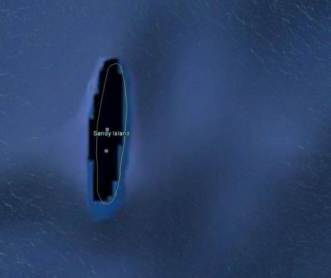 Фото - 12 Дивних зображень на google earth