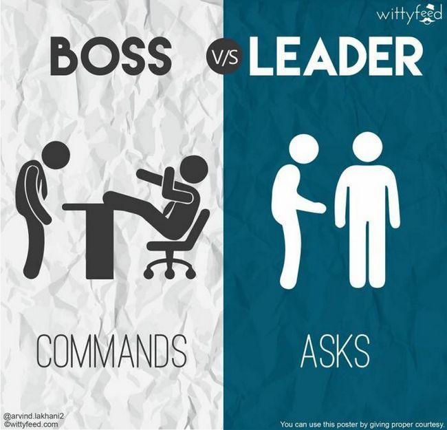 Фото - Чим відрізняється справжній лідер від звичайного начальника: 7 відмінностей