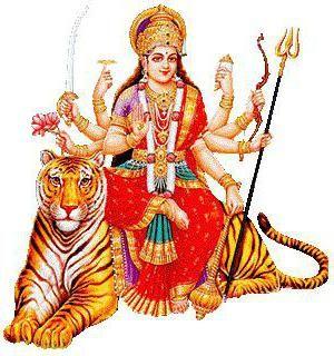 богиня Дурга фото