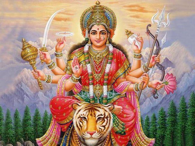 Фото - Індійська богиня Дурга