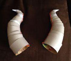 Фото - Як зробити роги кози своїми руками з паперу (фото)?