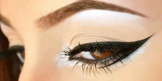 Фото - Як зробити трафарет для стрілок очей?