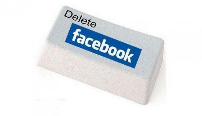 Фото - Як видалити свій facebook-аккаунт раз і назавжди