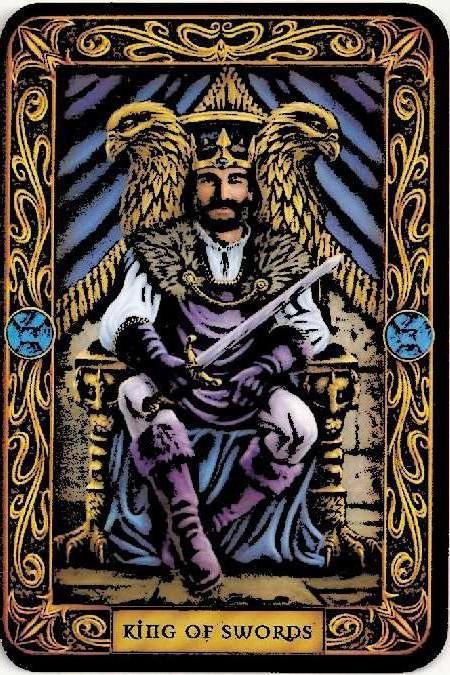 король мечів таро значення для особистих відносин