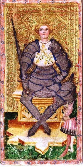 король мечів таро значення і тлумачення
