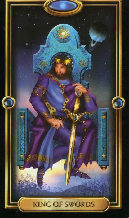 Фото - Король мечів таро: значення і тлумачення карти. Король мечів таро: значення у відносинах, у здоров'ї
