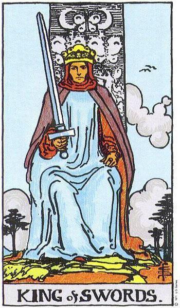 значення карт таро король мечів