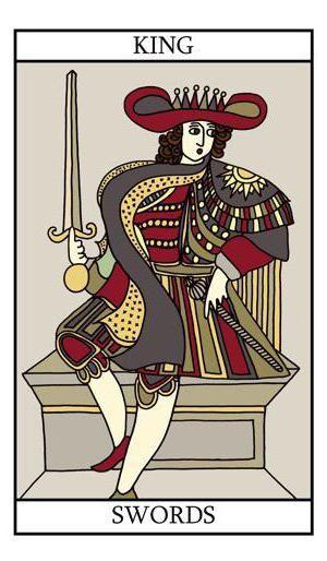 король мечів таро значення у відносинах
