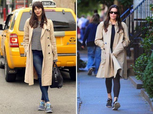 Фото - Кросівки з пальто. Класичні та ультрамодні поєднання, як правильно носити