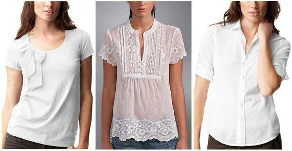 Фото - Літні блузки з льону та бавовни