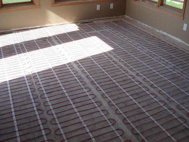 електричний обігрів підлоги