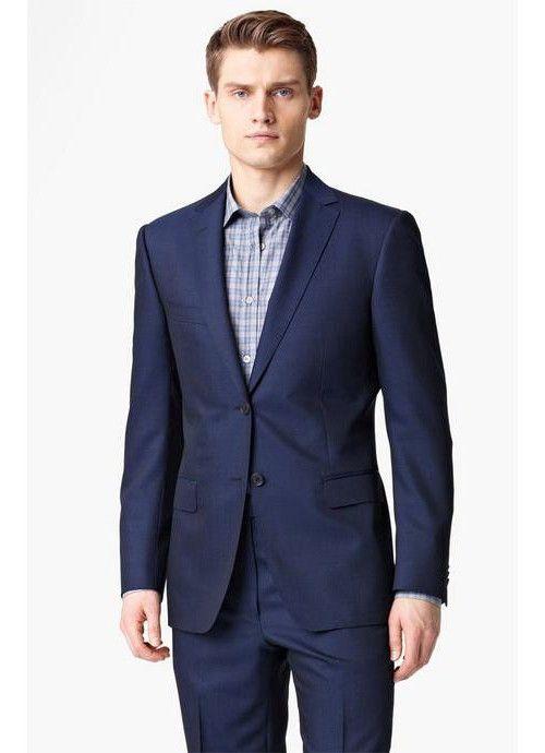 Фото - Сорочки під костюм для чоловіків. Яку сорочку надіти під синій костюм?