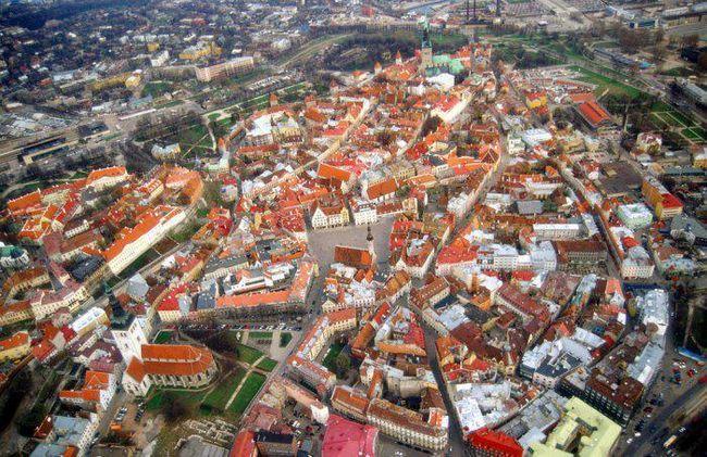міста європи