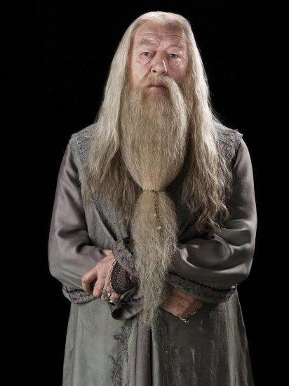 професор Дамблдор актор