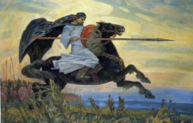 Фото - Олександр Пересвет. Герої Куликовської битви