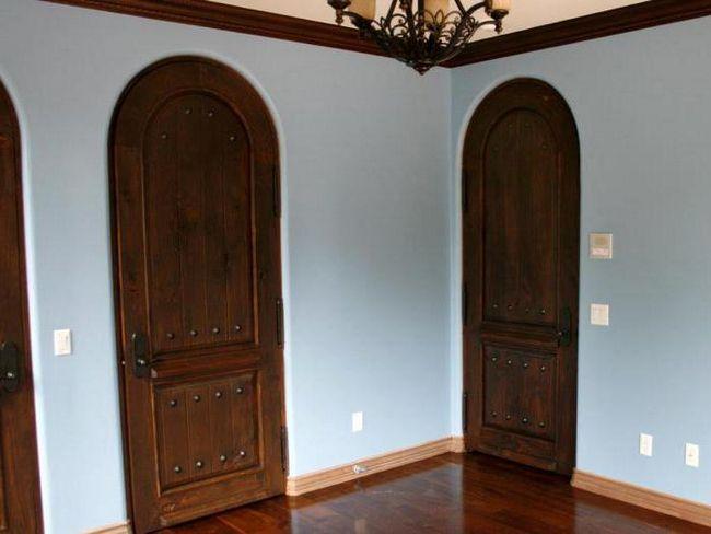 арочні двері фото