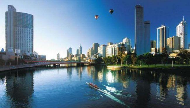 час в Мельбурн Австралія