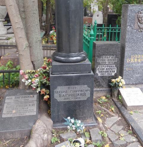 поет Едуард Багрицький