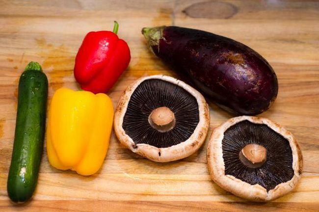 Фото - Баклажани на зиму з грибами - рецепти приготування