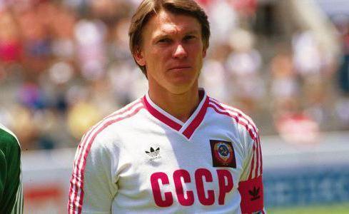 Фото - Біографія Олега Блохіна, його спортивні досягнення