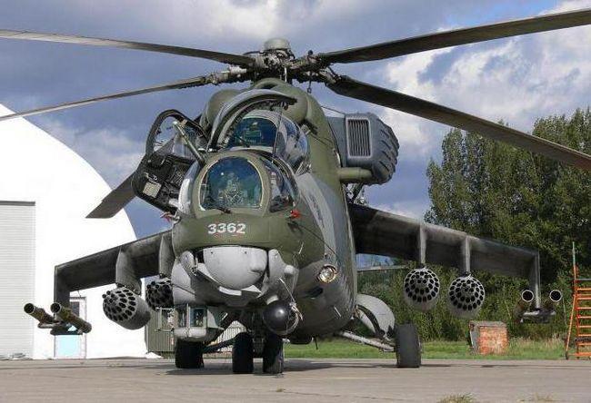 Фото - Бойовий вертоліт мі-35м: історія, опис і характеристики