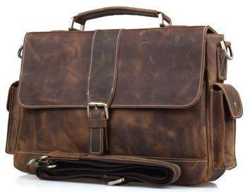 Фото - Брендовий чоловічий шкіряний портфель: види, характеристики та відгуки покупців