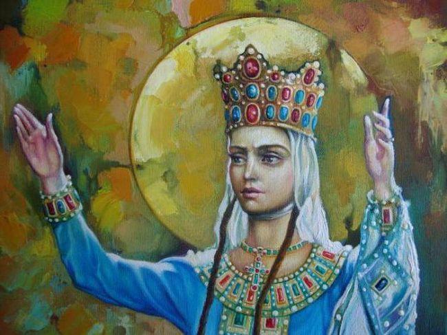 Фото - Цариця тамара: історія правління. Ікона, храм цариці Тамари