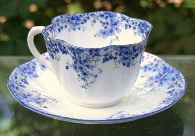 порцеляновий чайна пара