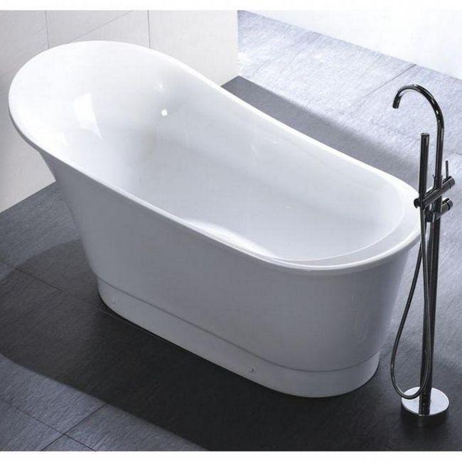 Фото - Чим мити акрилову ванну в домашніх умовах? Поради з миття підручними та спеціальними засобами