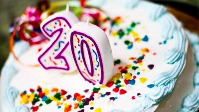 20 років