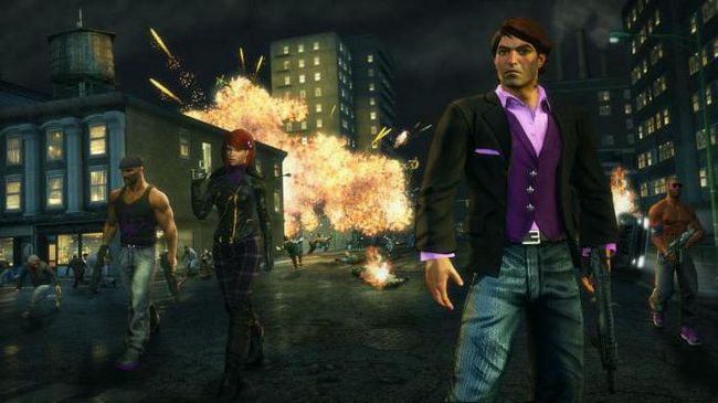 чіти на гру saints row 3