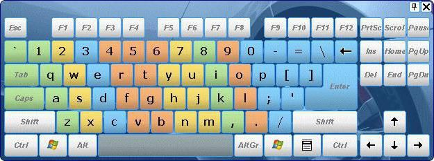 Сліпа друк на клавіатурі