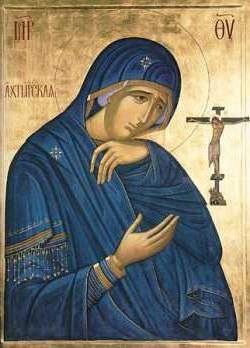 Охтирська ікона Божої Матері опис