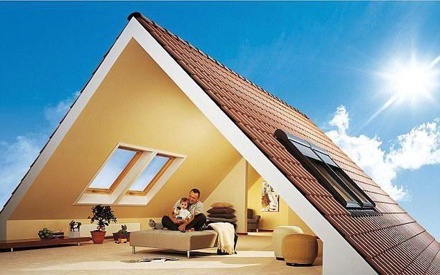 дерев'яний будинок 8х8 з мансардою