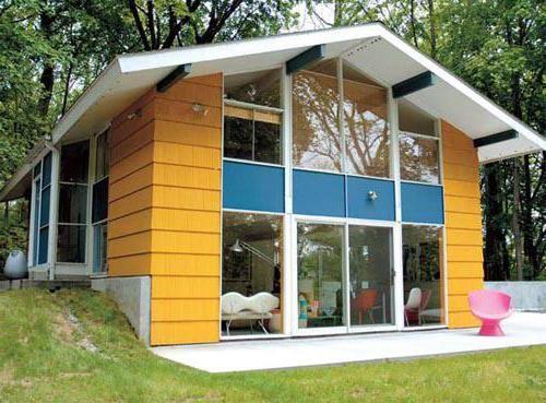 дерев'яні будинки з мансардою