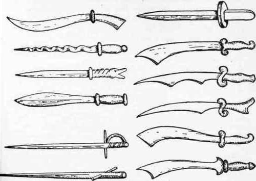 Фото - Дерев'яні мечі і щити для тренувань. Як зробити дерев'яний меч?