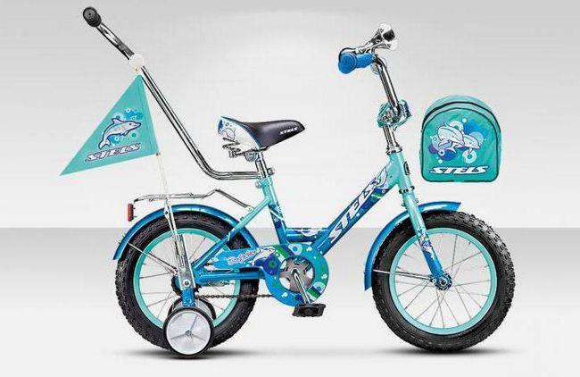 дитячий велосипед stels pilot 16