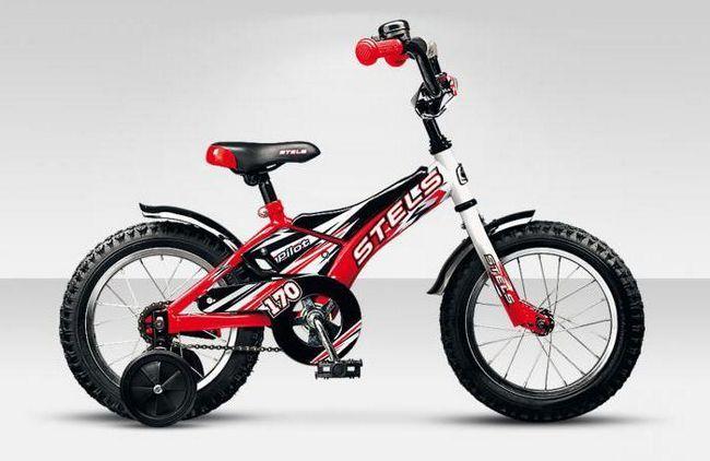 дитячий велосипед stels 18