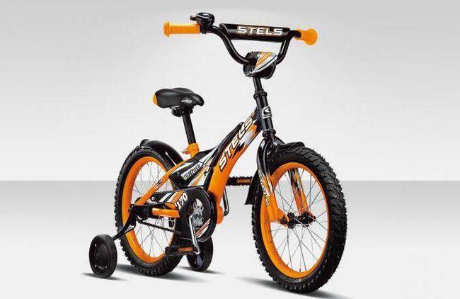 дитячий велосипед stels echo