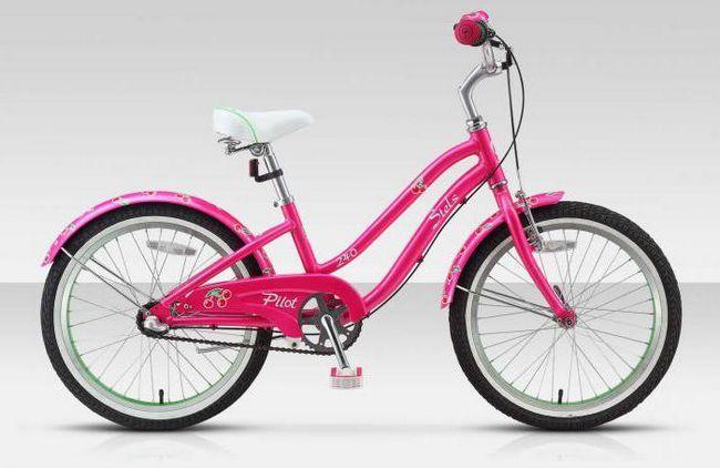 дитячий велосипед stels pilot