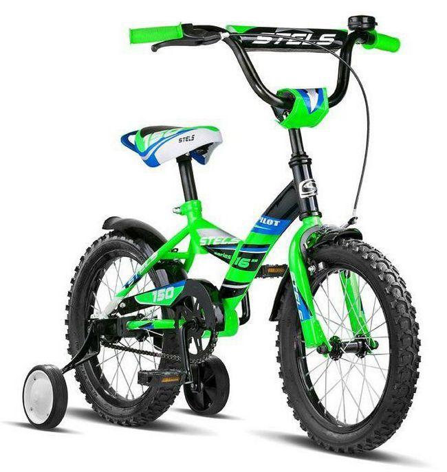 велосипед дитячий стелс фото