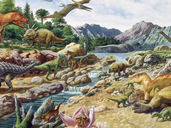 Фото - Динозавр юрського періоду та інші тварини юри. Світ юрського періоду (фото)