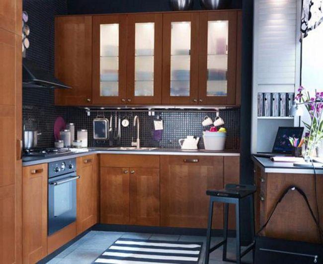 Фото - Дизайн кухні 7,7 кв. М своїми руками: фото