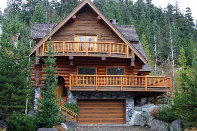 будинку з кедр
