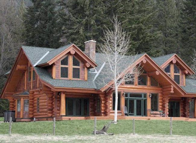 будинку з кедра фото