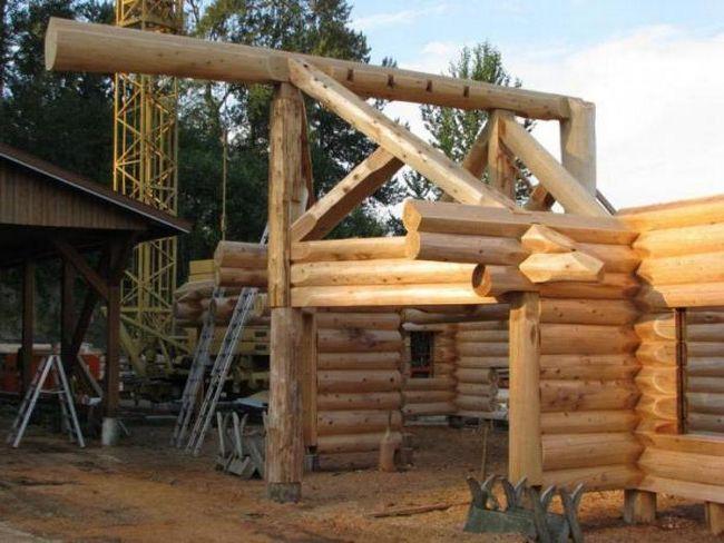 будівництво будинків з кедра