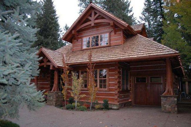 дерев'яні будинки з кедра