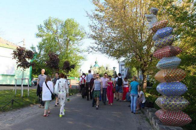 Фото - Пам'ятки Пейзажної алеї в Києві