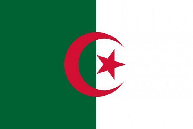 Фото - Прапор Алжиру: вид, значення, історія