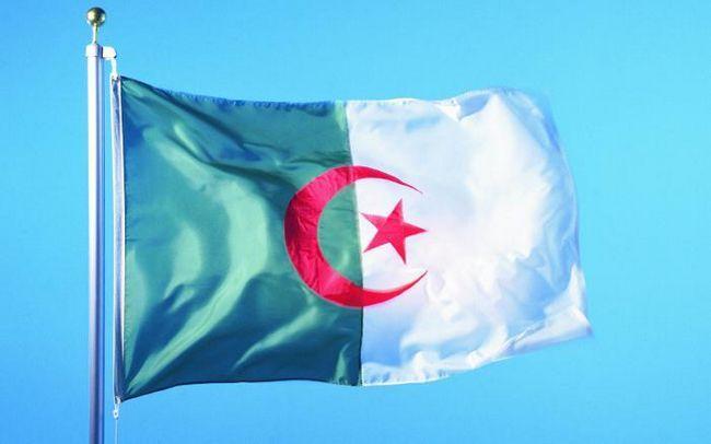 як виглядає прапор Алжиру